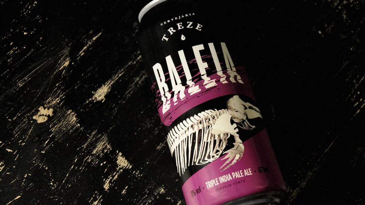 Cervejaria Treze lança a Triple IPA Baleia