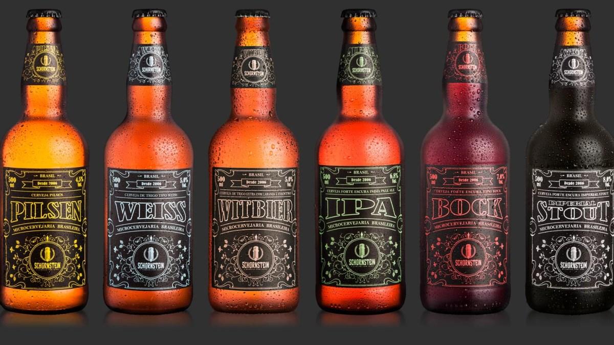 Rótulos da Schornstein estarão no 1º Festival da Cerveja Artesanal de Ilhabela