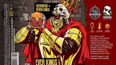 EVERBREW lança NE IPA em colab com Seven Kings Burger
