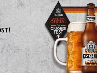 Eisenbahn apresenta versão 2019 da cerveja Oktoberfest