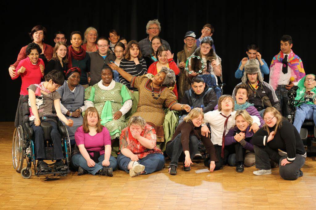 Blaumeier Atelier - Gäste aus Durban in Bremen 2013 - Foto Blaumeier Atelier