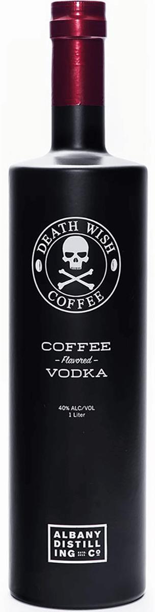 Albany Distilling Co Death Wish Coffee Vodka 1 L Bremers Wine And Liquor