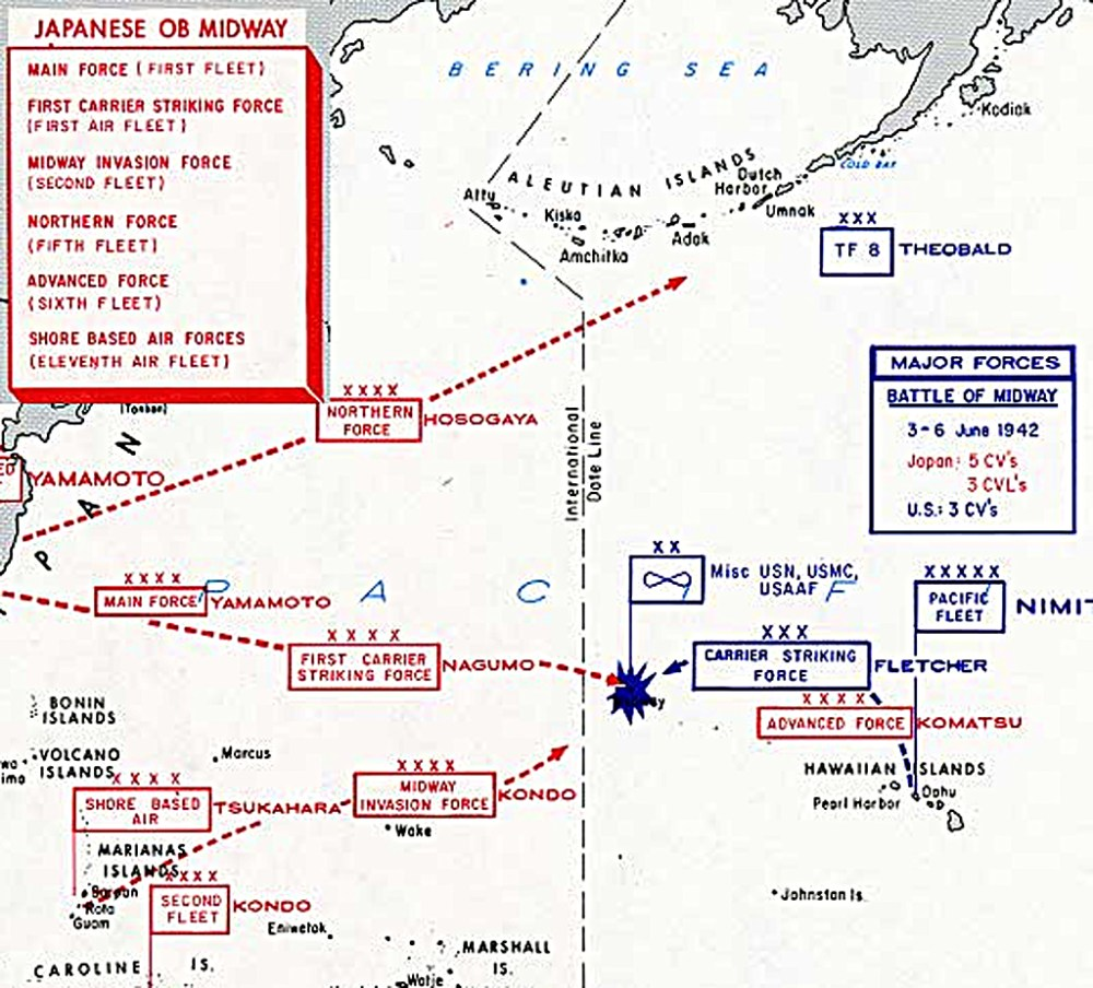 medium resolution of the japanese plan was to overwhelm and destroy the us fleet and capture midway as an advanced base to protect it s eastern flank the japanese threw almost