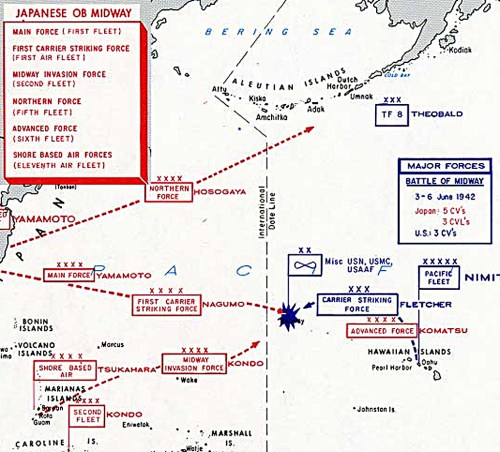 small resolution of the japanese plan was to overwhelm and destroy the us fleet and capture midway as an advanced base to protect it s eastern flank the japanese threw almost