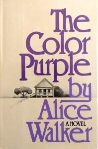 The Color Purple Alice Walker 1st Ed DJ Front