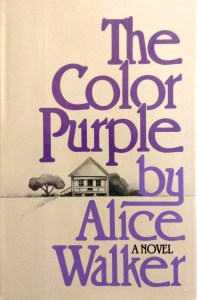 The Color Purple Alice Walker 1st Ed DJ Front