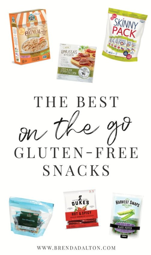 The Best On The Go Gluten-Free Snacks - brendadaltoncom - Brendadalton.com