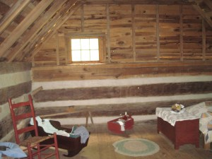 This is the attic bedroom for the children.