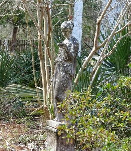 fairy godmother statue