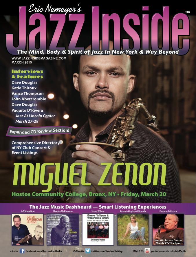 Review by Jazz Inside Magazine - Brenda Hopkins Music