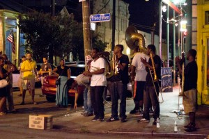 Frenchmen St. band