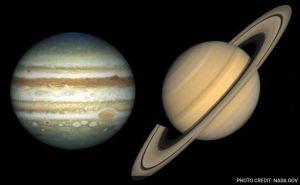 Jupiter Saturn NASA