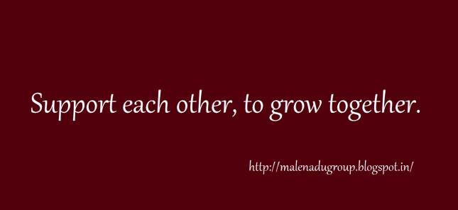 support each other to grow