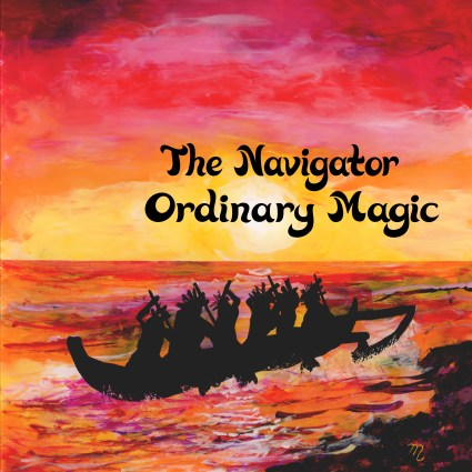 "Front Cover for ""The Navigator"" Single by Ordinary Magic"