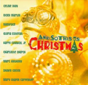 """Gloria Estefan """"And So This Is Christmas"""""""