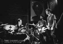 playing as the house drummer at Sayers Club
