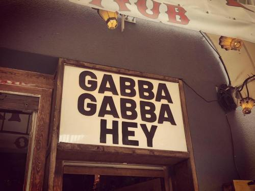 Gabba Gabba Hey - Brendan Buckley