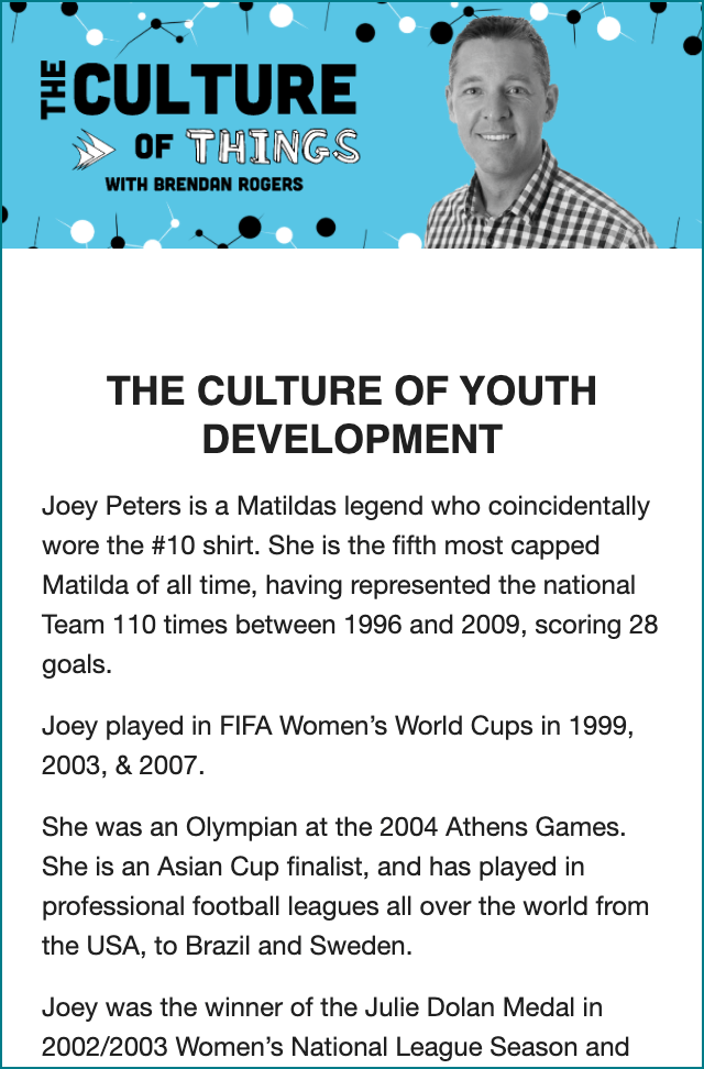 The Culture of Youth Development