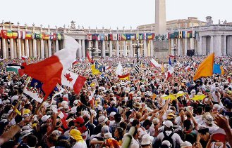 World Youth Day, Rome. (2000)