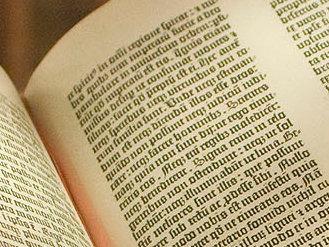 Gutenberg Bible, Lenox Copy, New York Public Library. (2009)