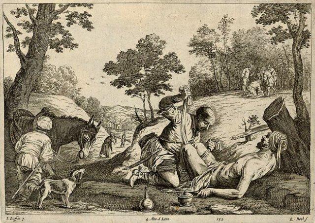 Quirijn/Coryn Boel's 'The Good Samaritan.' ( 1673)