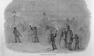 'A London Fog. — Drawn by Duncan.' (1847)