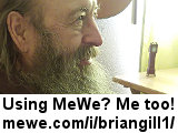 Brian Gill's 'contact me' MeWe.com URL