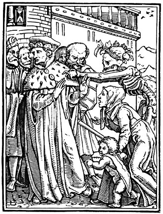 Hans Holbein's Danse Macabre: The Duke