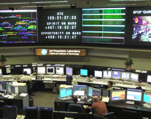 Jet Propulsion Laboratory in Pasadena, California.