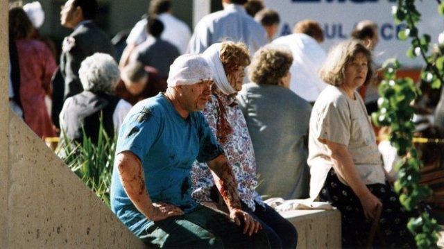 Oklahoma City bombing survivors.