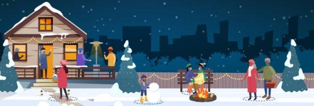 Winter Holidays, 2020. (CDC)