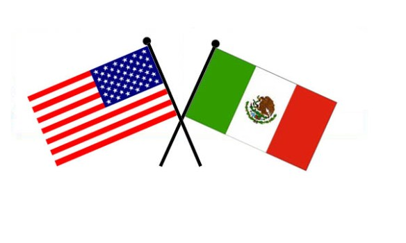 us-mexico-flags