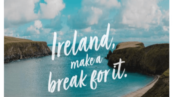 ireland make a break for it