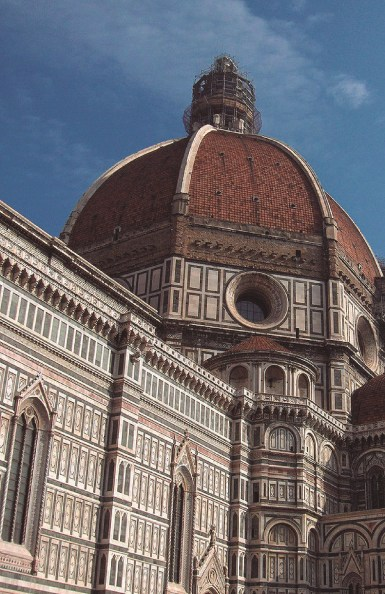 Santa María del Fiore Florencia, Italia 1296 - 1418 Filippo Brunellesch fue el primero en hacer templos renacentistas.