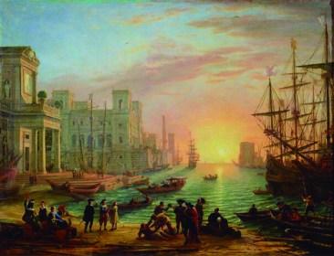 Puerto Claudio de Lorena Museo de Louvre París