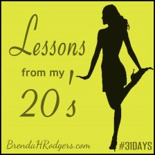 Lessons from my 20's