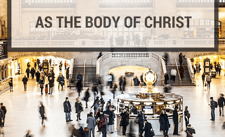 How to Live in True Community as the Body of Christ {Part 1}