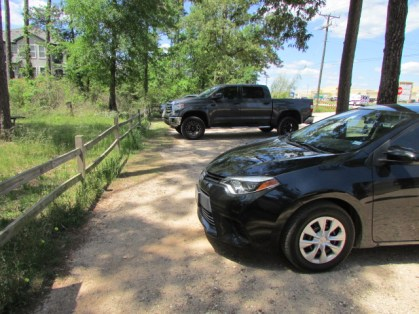Jones Lake Parking