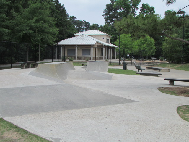 Skate Park and Tennis Area