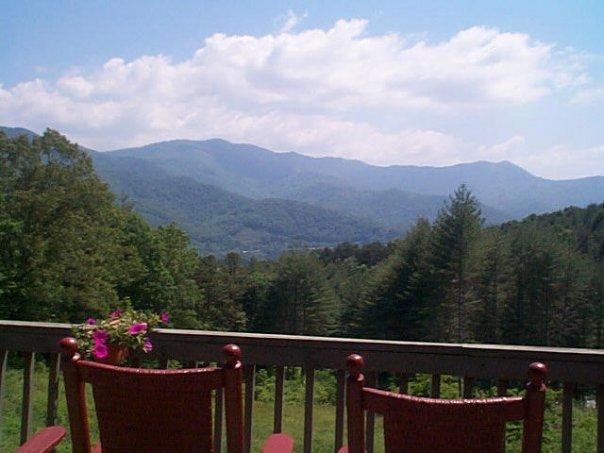hemlock porch view
