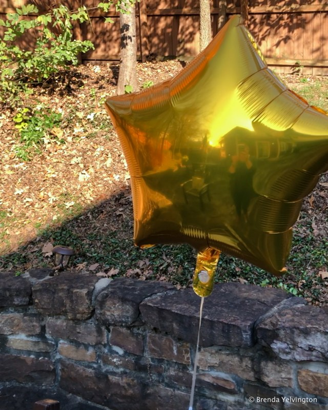 Gold Balloon