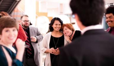 VIP Screening Reception Photo courtesy of University of Arkansas — Fort Smith