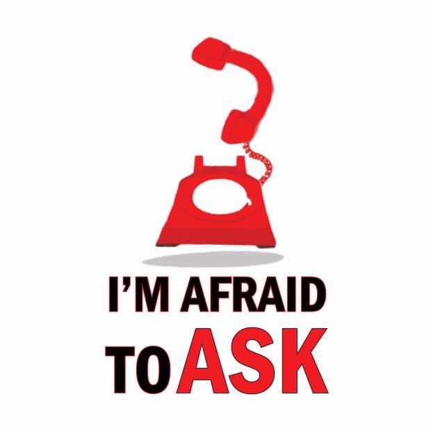 I'm Afraid To Ask Podcast Logo