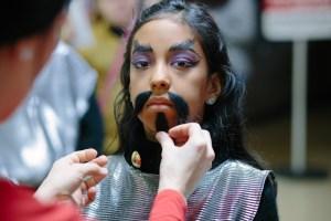 Klingon makeup