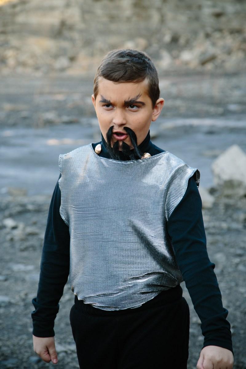 Klingon on the planet