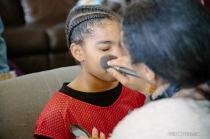 Uhura makeup