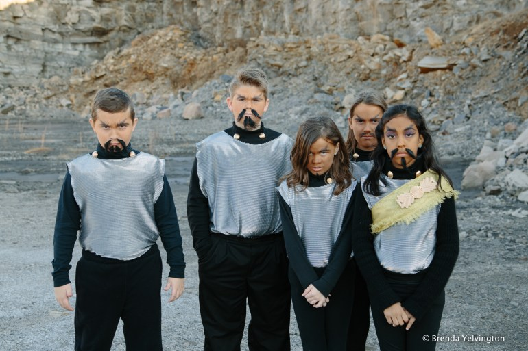 Klingons on an alien planet
