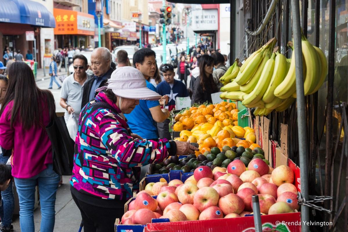 San Francisco Chinatown shopping