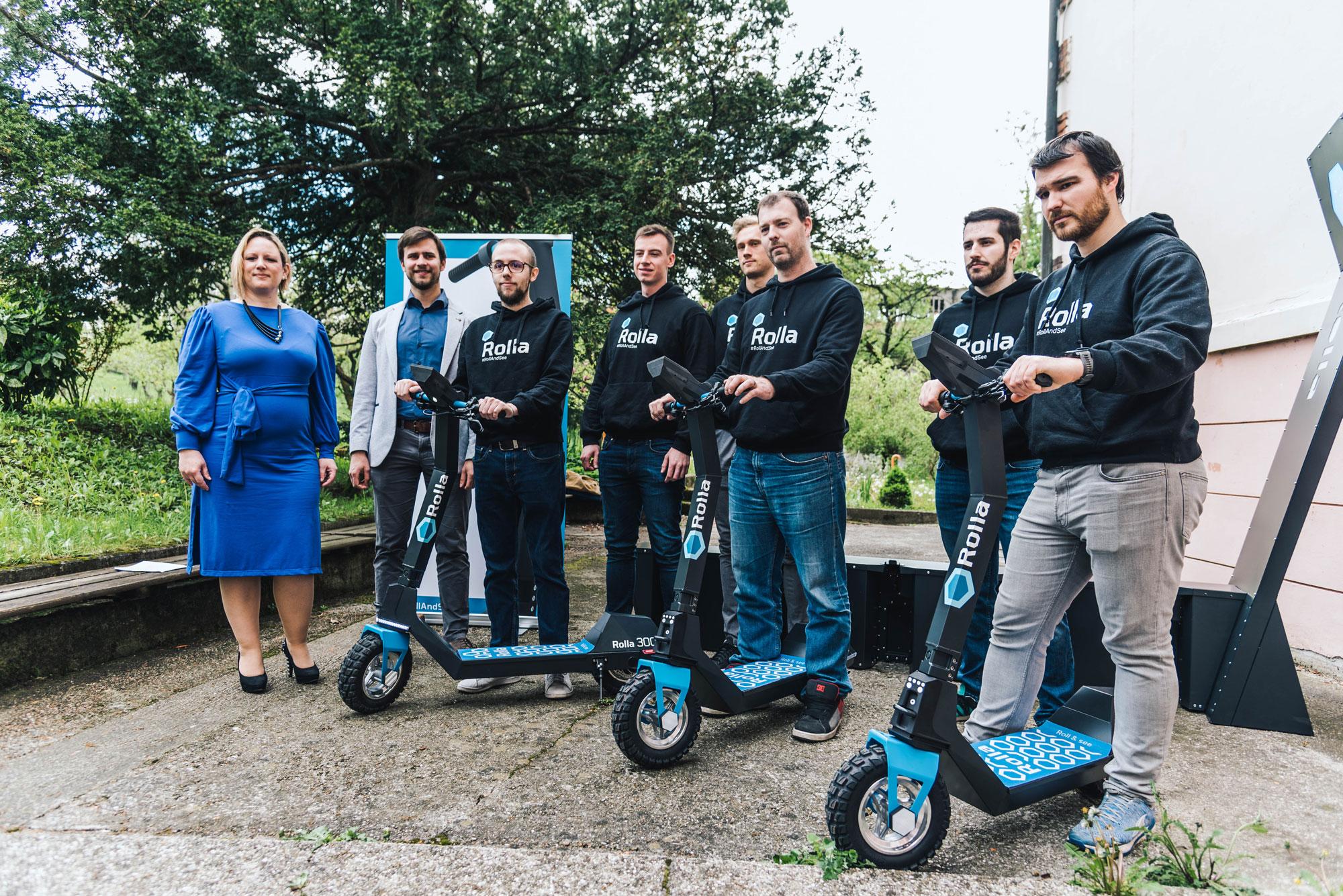 U Hrvatskoj dostupna Rolla - prvi električni romobil za najam