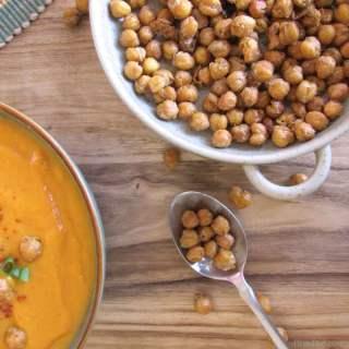 Crispy Roasted Garbanzo Beans Recipe